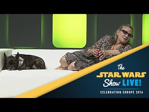 Carrie Fisher: The Princess Diaries | Star Wars Celebration Europe 2016