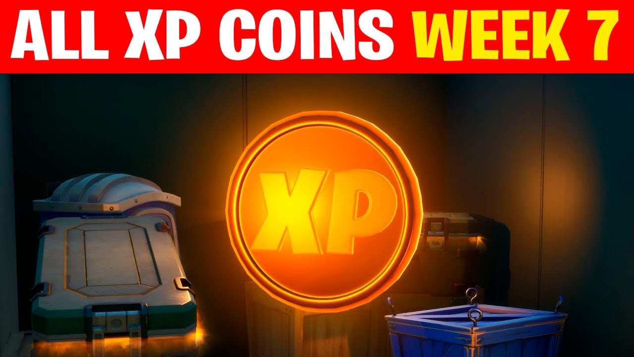 Download All XP COINS FORTNITE CHAPTER 2 SEASON 4 (WEEK 7)