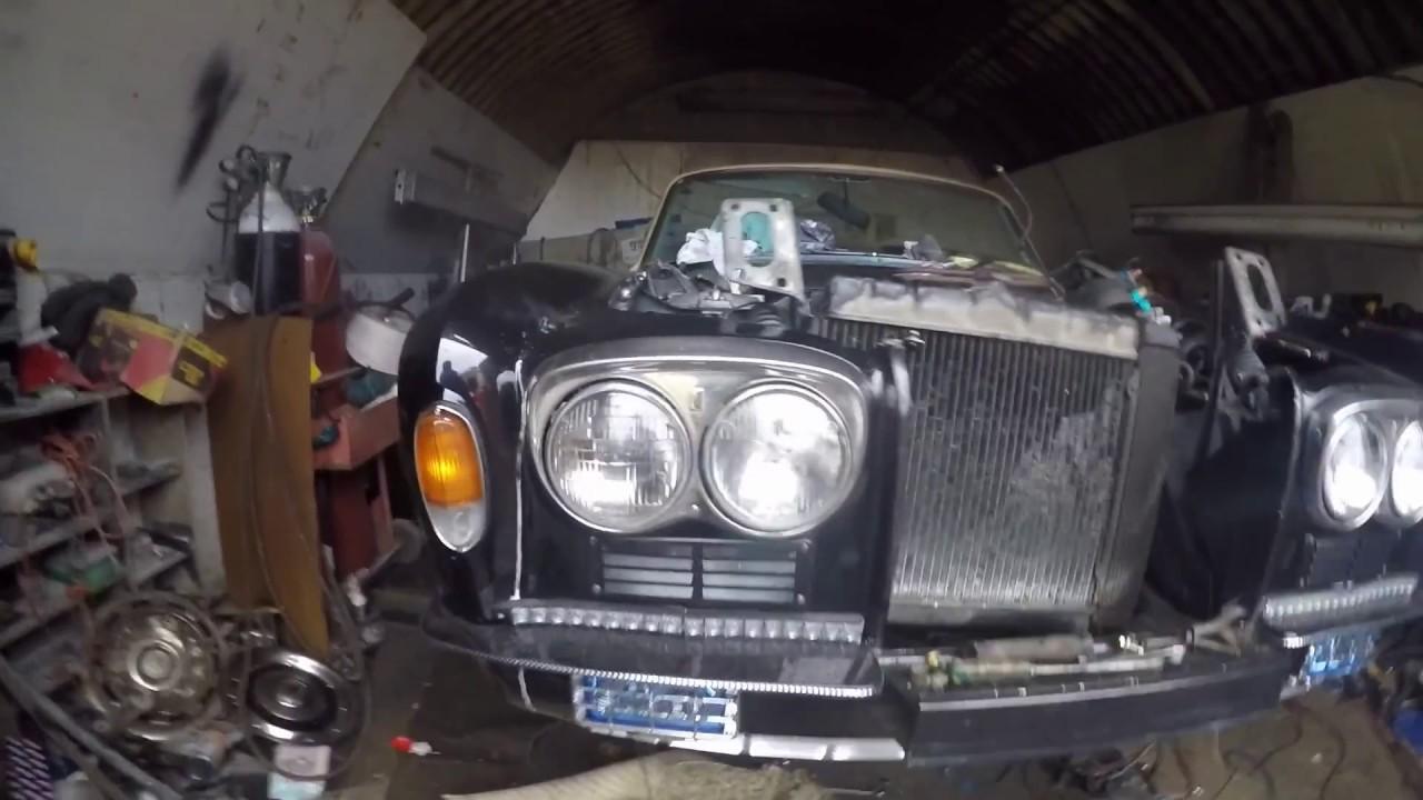 Rolls Royce Silver Shadow 4 Door Convertible