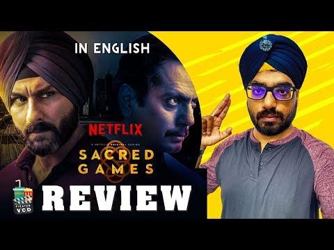 Sacred Games Review - In English   Web Series   Saif Ali Khan   Digital Rockers   Pirated VCD