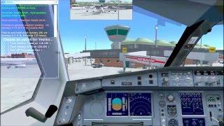 Kervan Lojistik - FSX İstanbul Konya LTBALTAN Airbus A380