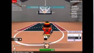 Roblox 1v1 basketball tournament Pt.1 final video