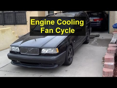 Engine cooling fan function, cycle, temperature - VOTD