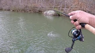 Winter Crappie Fishing 2019! Live Minnows and Bobber Rig