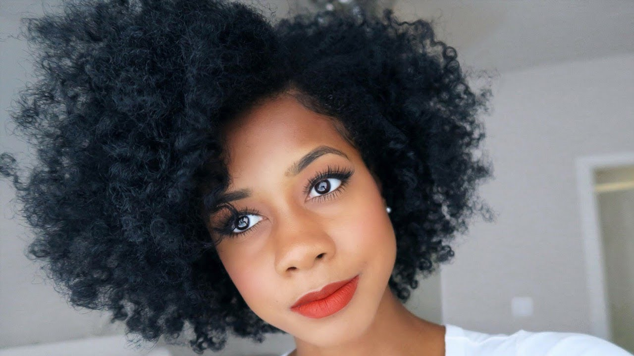 twist out hair style how to slay a twist out using only 6 twists 9559