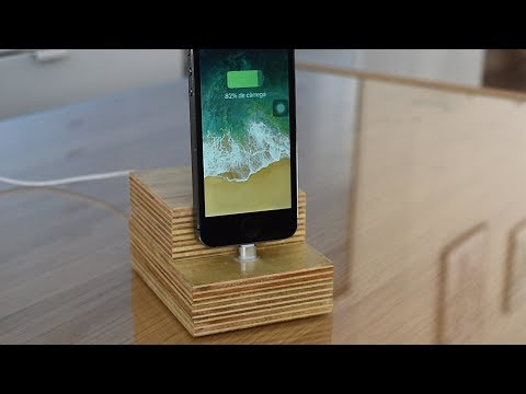 DIY iPhone Dock