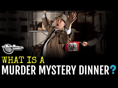Murder Mystery Dinner Theater Shows with The Murder Mystery Co.