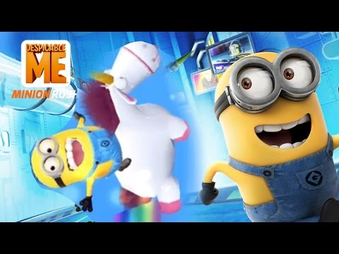 BRAND NEW HIGHSCORE RUN - Minion Rush New Stage Gameplay (IOS/ANDROID)