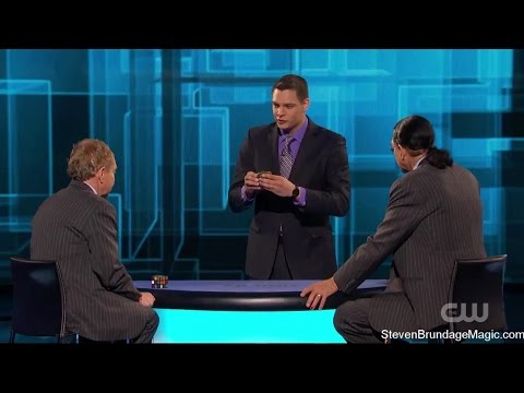 Penn and Teller Fool Us // Steven Brundage -Rubiks Cube Magician (Full Video)