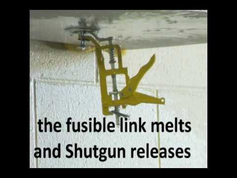 Shutgun Fire Sprinkler Shutoff Tool Limits Water Damage