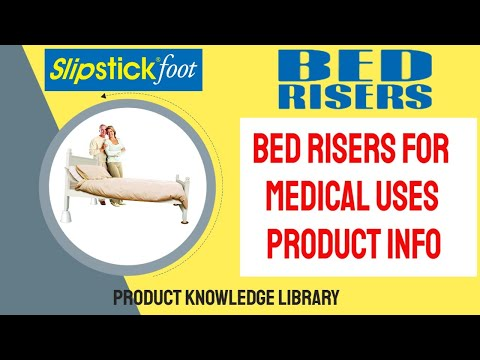 Slipstick CB656 Medical Bed Risers Product Info & Uses For Gerds & Other Related Ailments