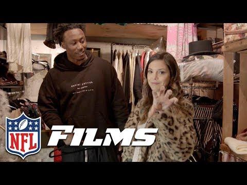 Katie Nolan & Brandon Marshall Go Antiquing   NFL Films Presents
