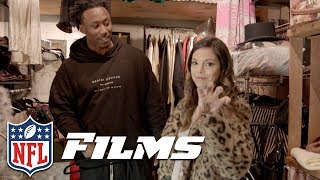Katie Nolan & Brandon Marshall Go Antiquing | NFL Films Presents