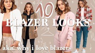 Warum Blazer in keİnem Schrank fehlen dürfen - aka. how to make Blazer alltagstauglich