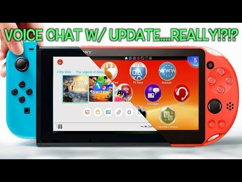 PS VITA PARTY CHAT WORKS FLAWLESSLY + FRIEND THINKS NINTENDO SWITCH HAS VOICE CHAT W/ UPDATE LOL