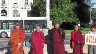 Shwe Nya War at Berkeley, 88 Burma Day Flag Raising Ceremony Speech