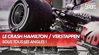 Le crash Hamilton / Verstappen sous tous les angles
