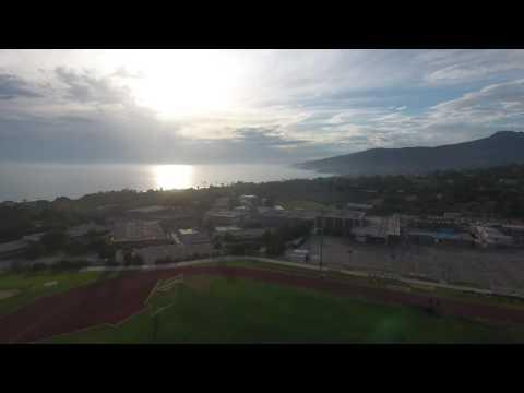 Malibu High School Aerial