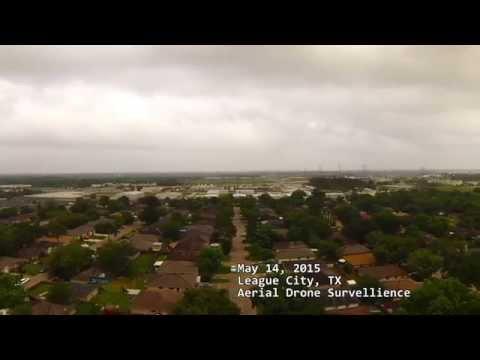 League City Aerial Drone Surveillance