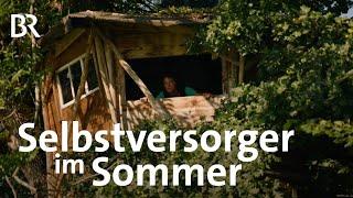 Selbstversorger Lucia Hiemers ertragreicher Garten im Sommer  Zwischen Spessart und Karwendel  BR