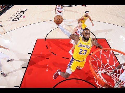 - LeBron Loses Lakers Debut In Portland