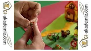 Уроки лепки для детей -- 6