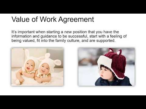 Nanny and Sitter Work Agreements (Employment Contracts) Course