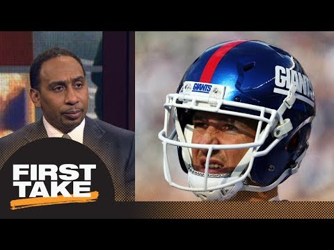Stephen A. Smith likes Eli Manning to Denver Broncos | First Take | ESPN