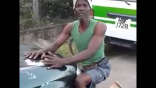 African man sings indian song