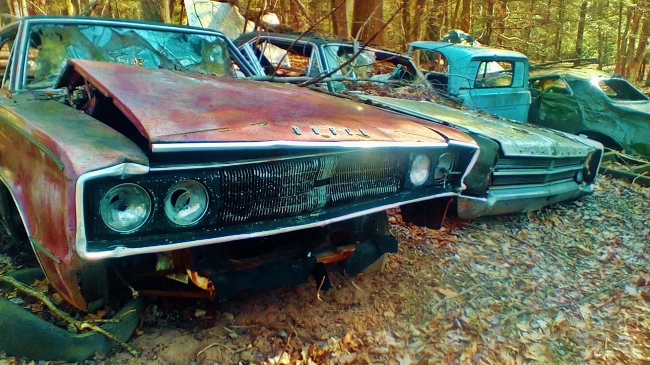 Abandoned Antique Classic Cars Mopar AMAZING HISTORY - YouTube