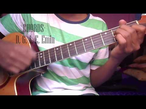 Doraemon Guitar Lesson Chords Only Chord Lesson In Youtube In Easy