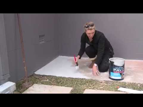 Painting Concrete With Ultra Pave Youtube