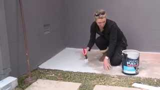 Painting concrete with Ultra Pave