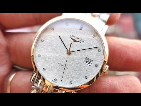 [Rất Đẹp] Longines Elegant 37mm Diamond L4.810.5.77.7 | ICS Authentic