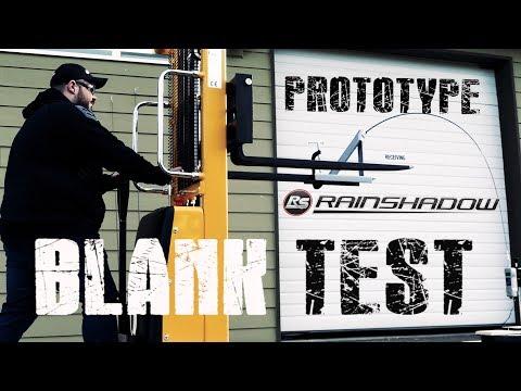 RainShadow Prototype Rod Blank Breaking