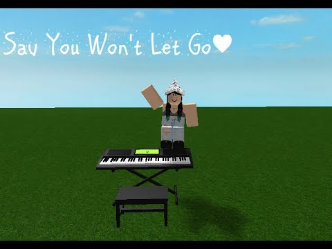 Roblox Canon In D Piano The Whole Song Is Actually Like This - Say You Wont Let Go Virtual Piano Roblox