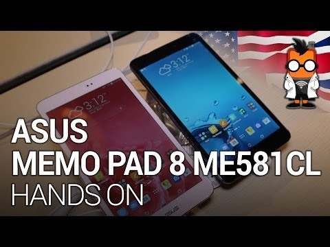 Asus Memo Pad 8 ME581CL Android Marshmallow Videos - Waoweo