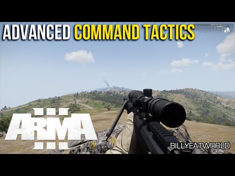 ARMA 3 - Advanced AI Command Tactics w/ ALIVE Combat Support & High Command (Full Mission)