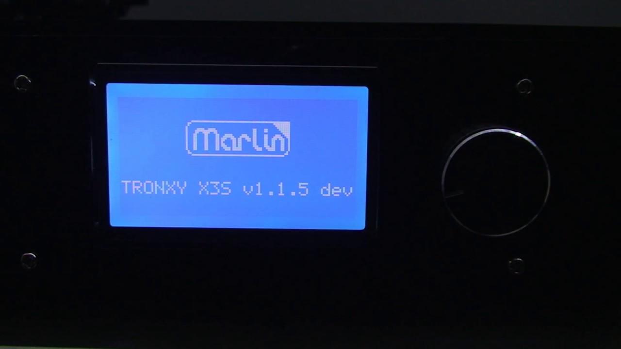 Tronxy X3S Marlin Firmware flashen