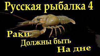 Русская рыбалка 4 Раки должны быть на дне Вьюнок