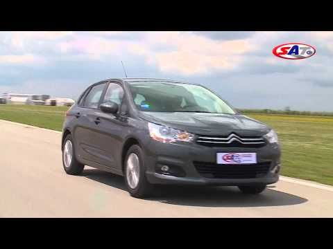 Citroen C4 - Road test by SAT TV Show
