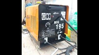 Полуавтомат MIG 195 не варит на малых токах.