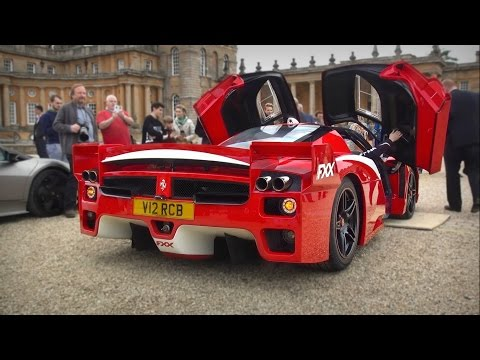 Road-Legal Ferrari Enzo FXX STUPIDLY LOUD REVS & CRAZY SOUND!