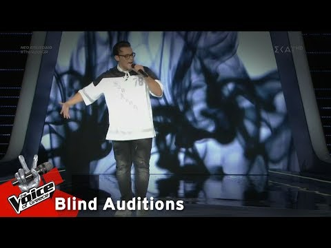 Alex Πετίδης - Sing For The Moment | 4o Blind Audition | The Voice Of Greece