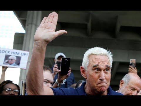 Trump ally Roger Stone arraigned - watch live
