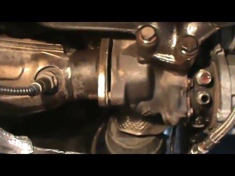 Audi A4 1.8t cabrio BFB. How to remove turbo.