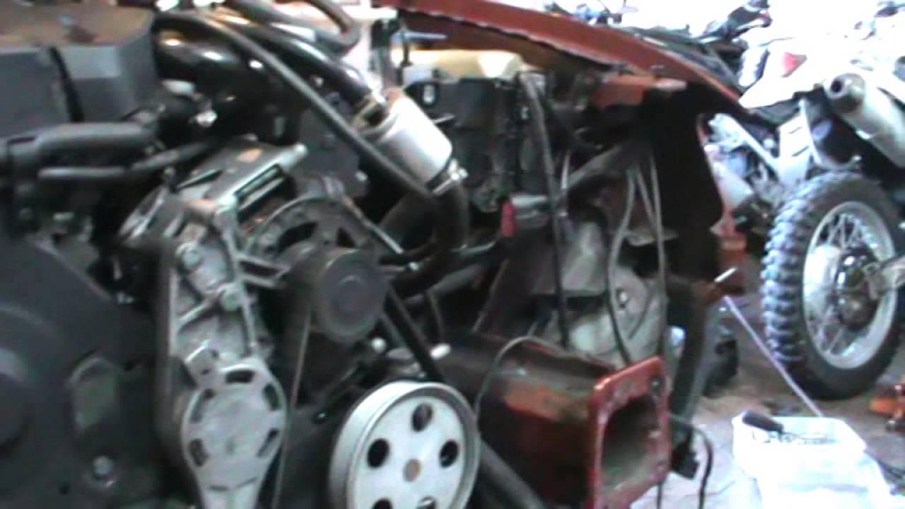 Audi A5 2.0 T >> Como desmontar el turbo. Audi A4 1.8t cabrio BFB. Removing ...
