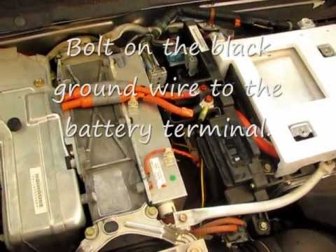 How To Install A Grid Charger Hybrid Ima Battery On 2001 Honda Insight P1449 And P1447