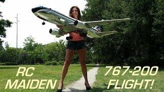 RC Boeing 767-200 Delta RC Airliner Maiden !