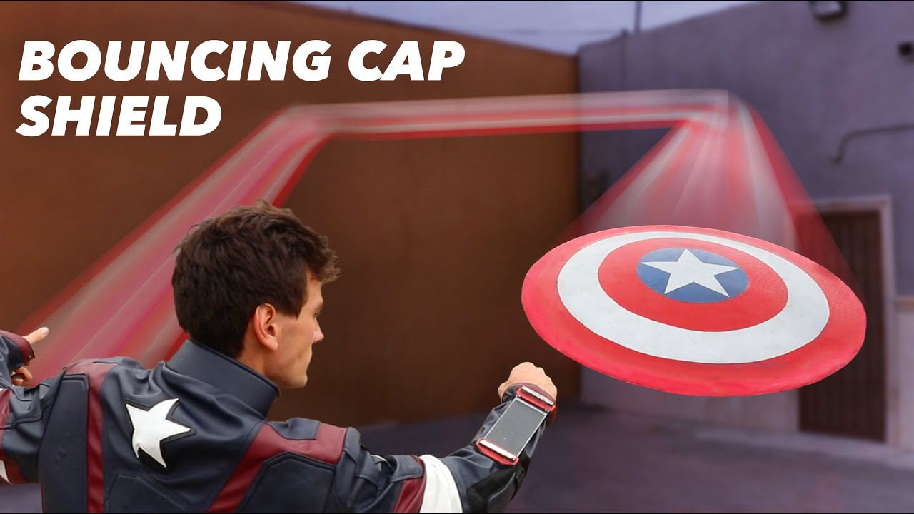 Download Real Captain America Shield That Actually Bounces Back! - OVER 100 FT BOUNCE!!!